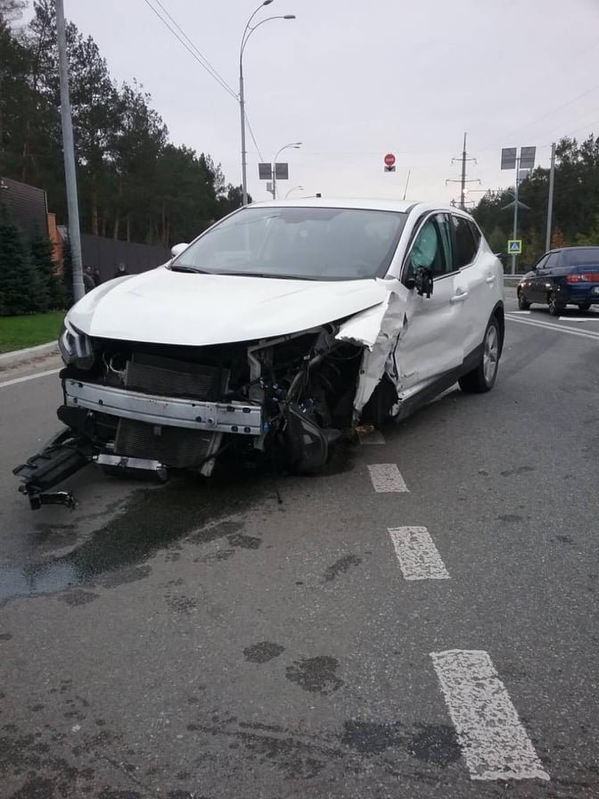 В Киевской области произошло крупное ДТП: машины смяло, пострадали восемь человек, ФОТО, Фото ГСЧС Украины