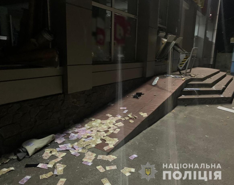 Под Киевом неизвестные повредили банкоматы и похитили наличные, Фото: ГУ Нацполиции Киевщины