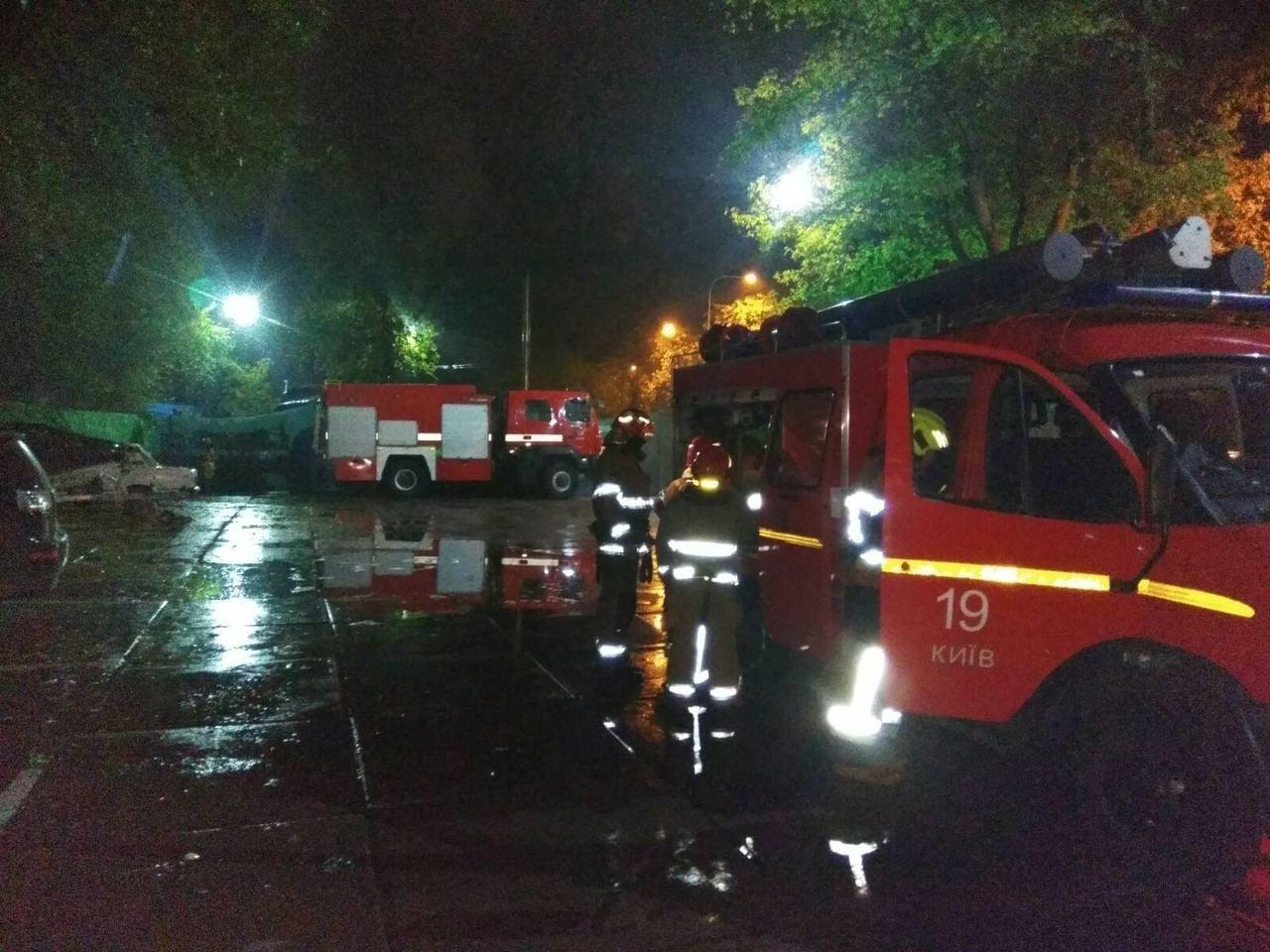 Пожар в отеле., ФОТО: ГСЧС