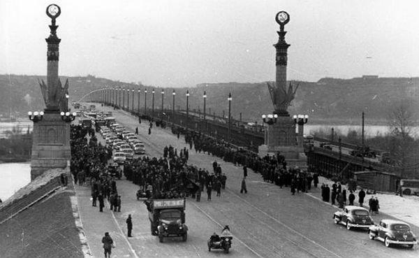 Мосту Патона в Киеве 67 лет: интересные факты о сооружении, ФОТО, фото-1, Фото с открытых источников