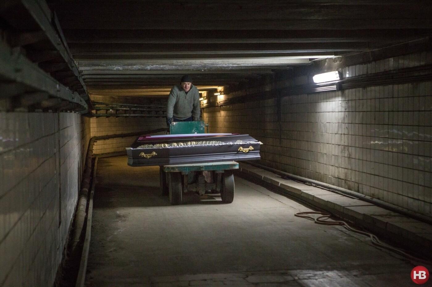 Киевский крематорий внутри, ФОТО, Фото: Новое Время