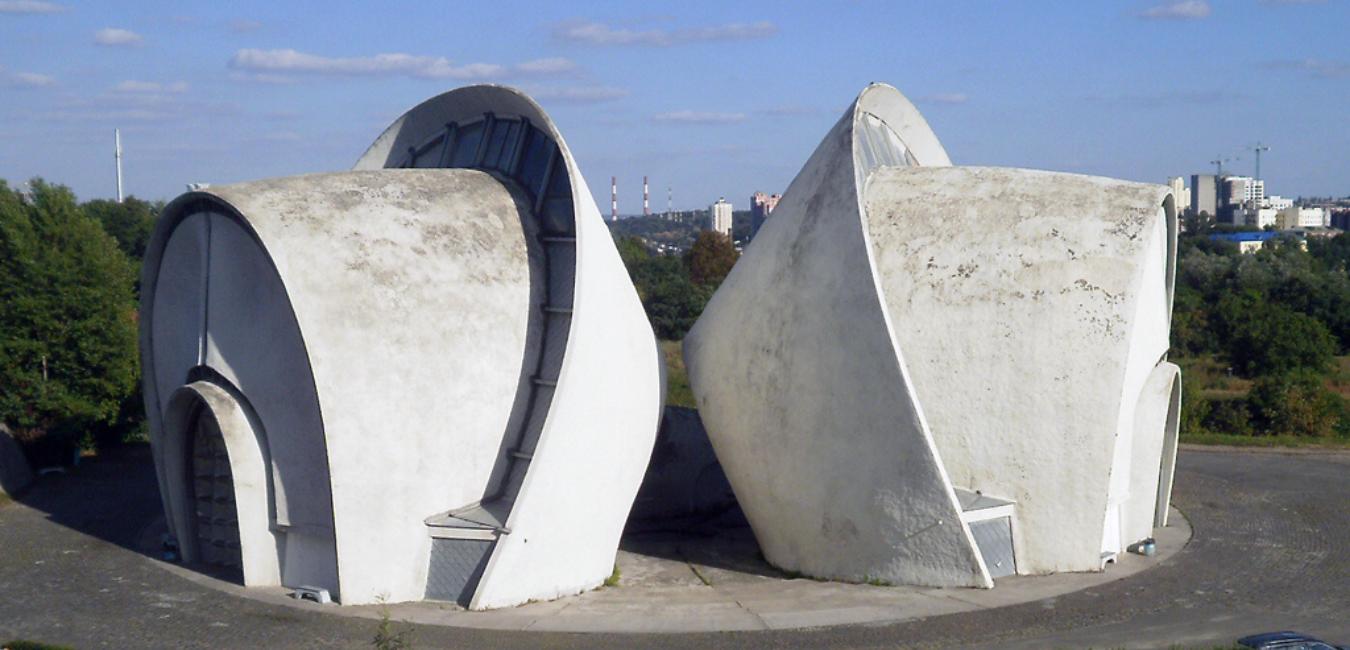 Киевский крематорий внутри, ФОТО, Фото: Википедия