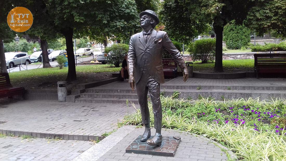Памятник Паниковскому в Киеве, Фото: Тут Киев