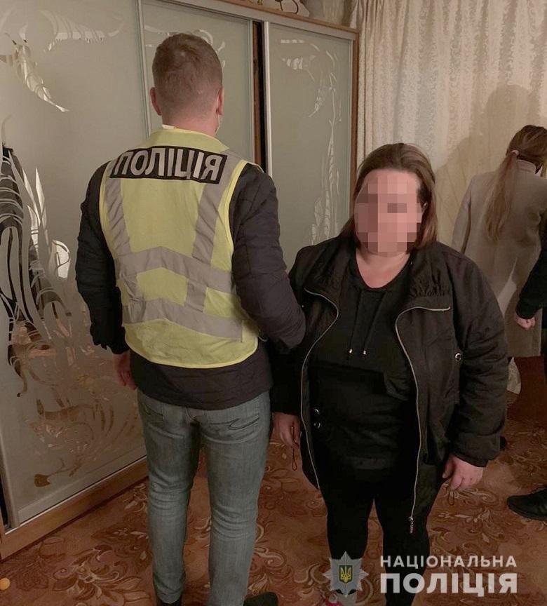 Полиция Киева задержала женщину, которая продавала молодых девушек за границу, ВИДЕО, фото-1, отдел коммуникации полиции Киева.