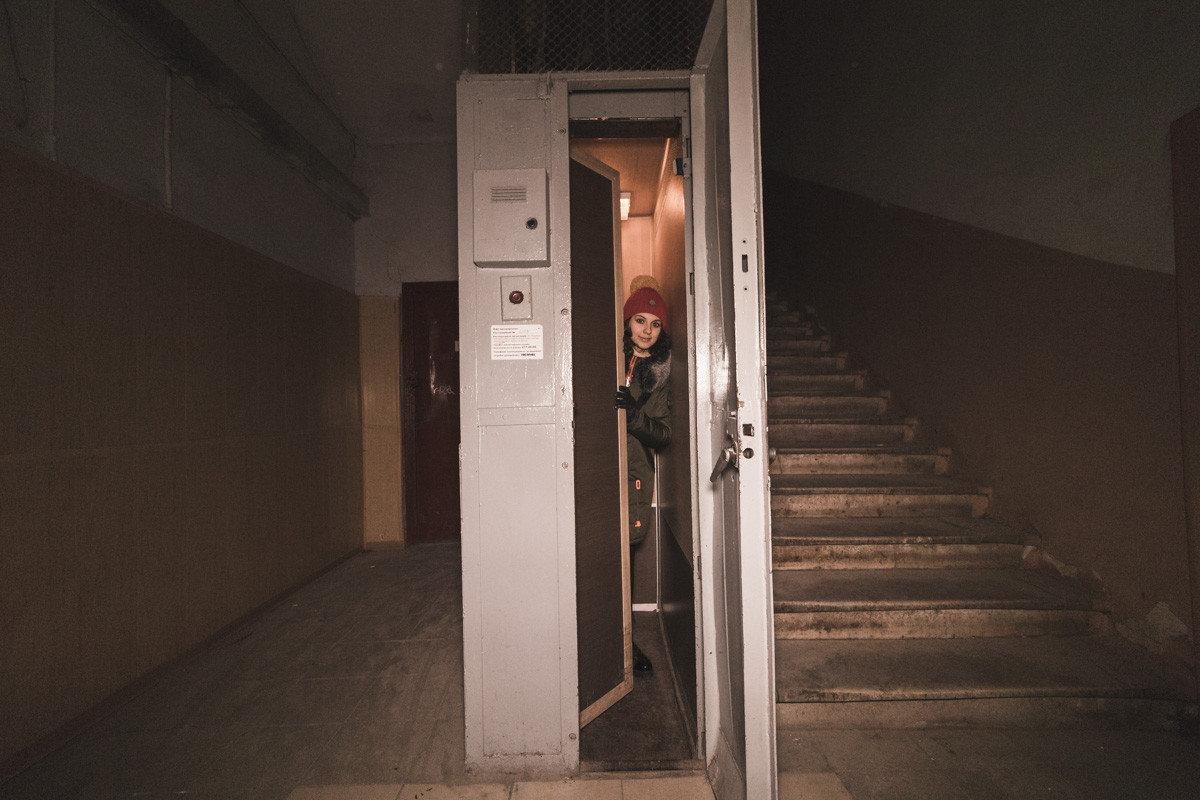 Лифт на одного человека в Киеве, Фото: my-kiev.com