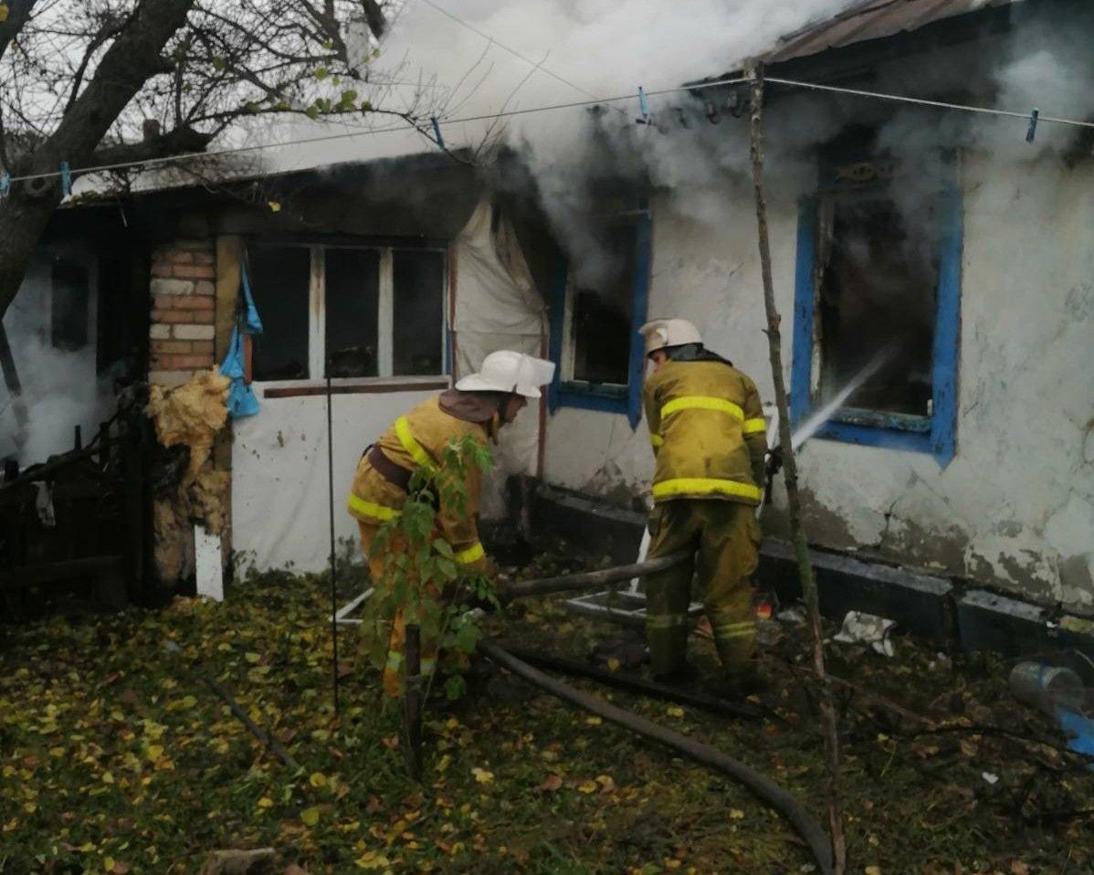 В Киевской области в результате пожара погибли двое пенсионеров, фото-1