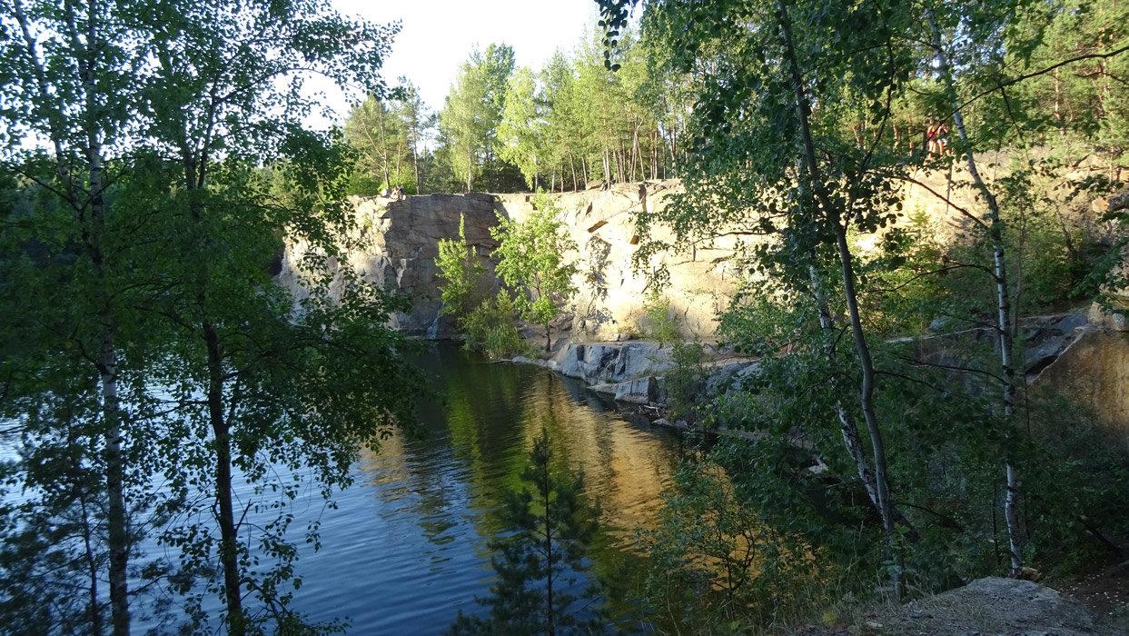Шесть чудесных мест возле Киева: карьер Высокий камень, Фото: Foto.ua