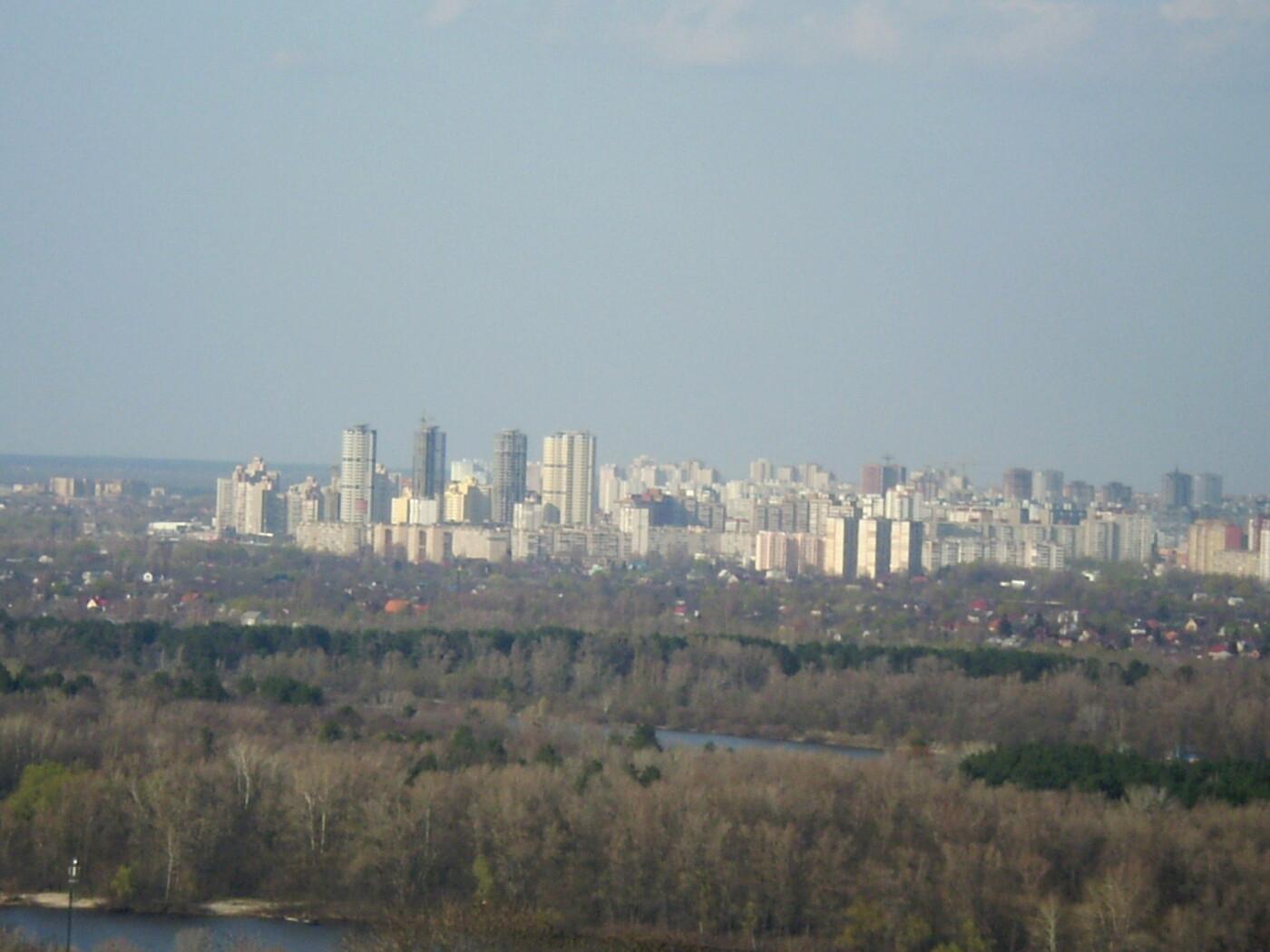 Появился рейтинг районов Киева с самым чистым воздухом, Фото: Википедия