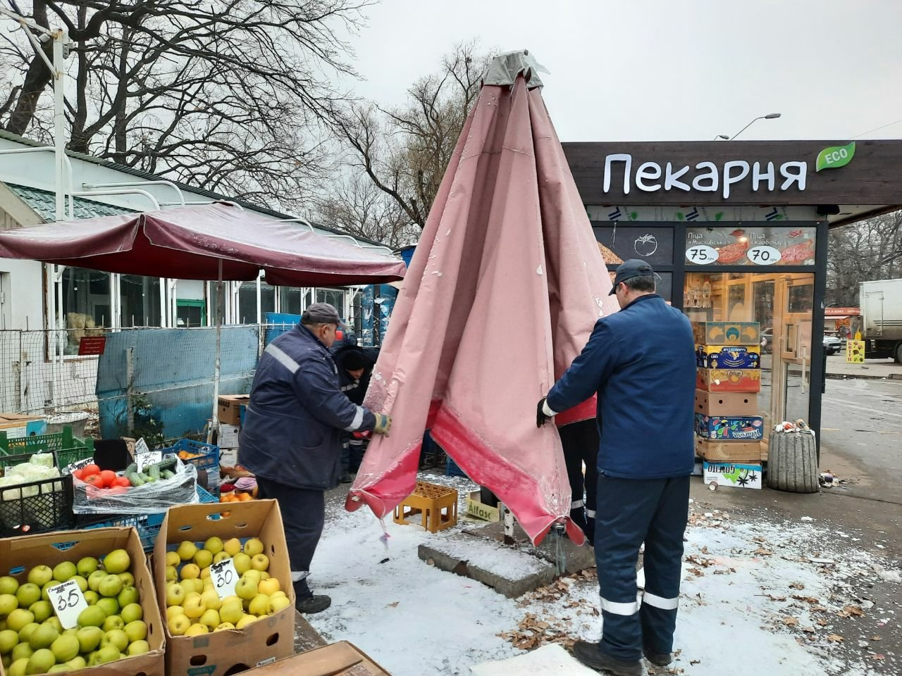 В двух районах Киева остановили работу 40 незаконных точек