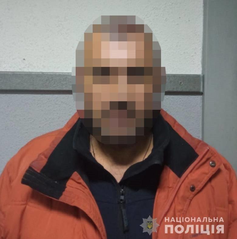 задержанный, полиция Киева