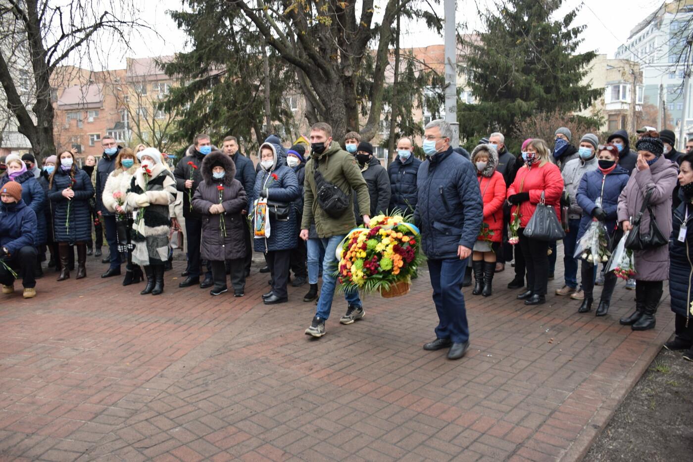 знак погибшим воинам АТО / ООС на Подоле, Киев