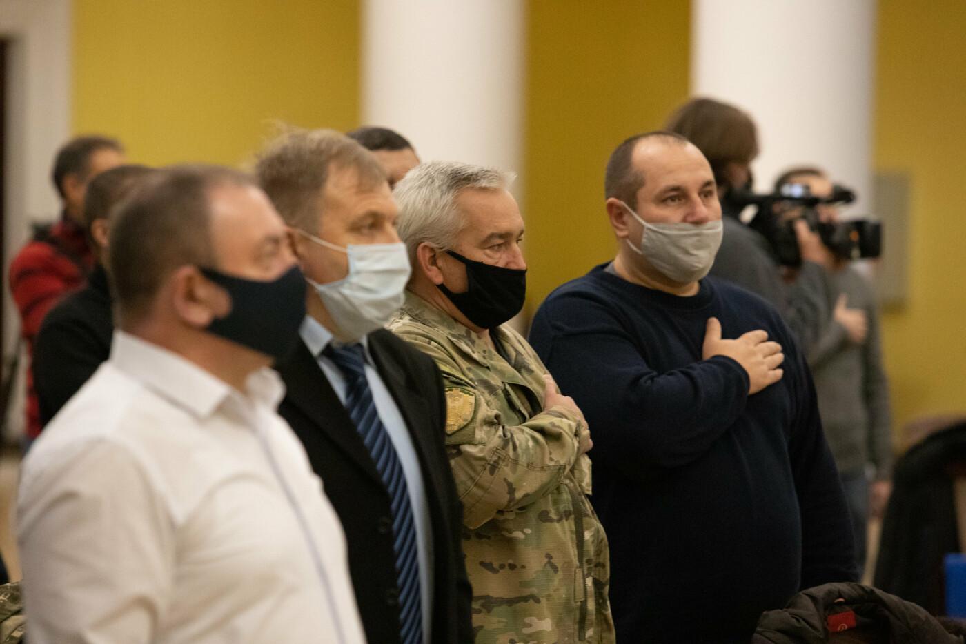 В Киеве вручили 24 ордера на квартиры участникам АТО