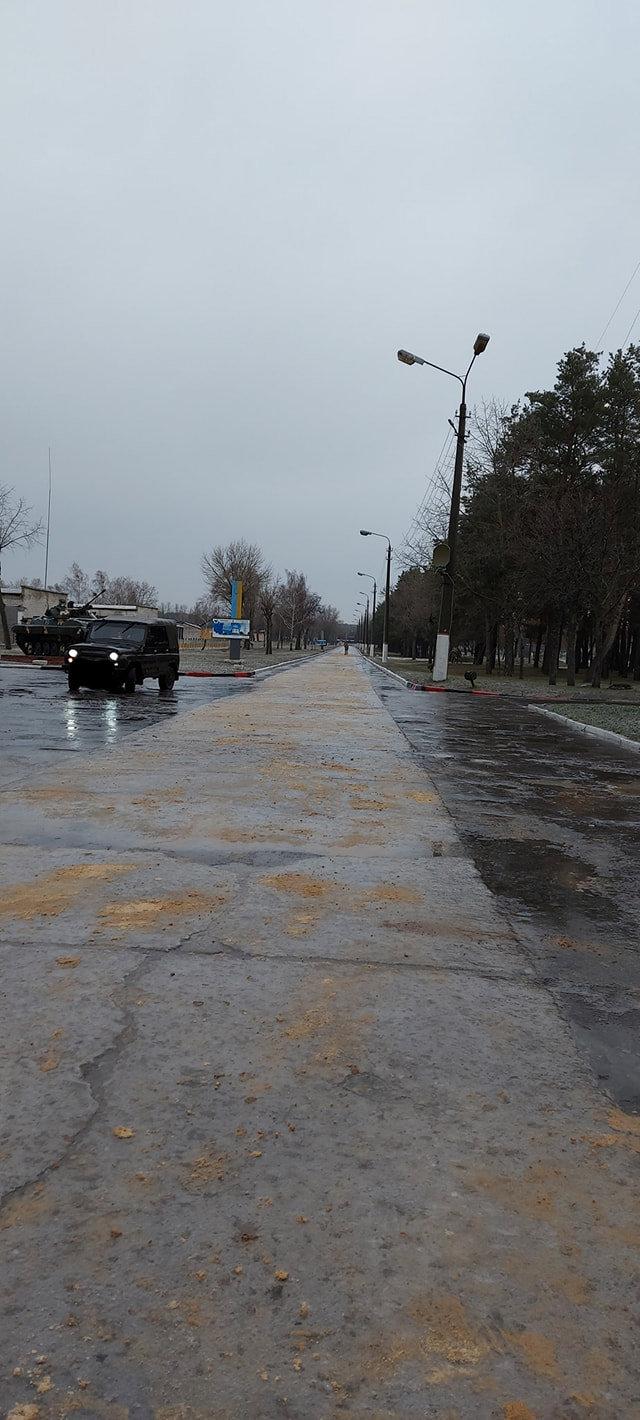 """Гололед на улицах Киева утром в пятницу, 11 декабря, Фото: Научный центр """"Десна""""/Nataly Mitrofanova"""