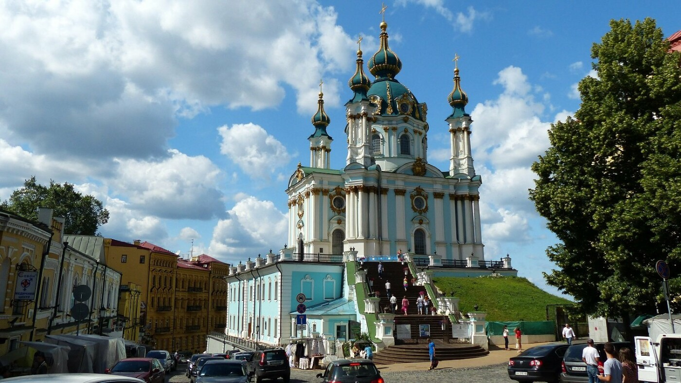 В Киеве после масштабной реставрации открылась Андреевская церковь, Фото: Википедия