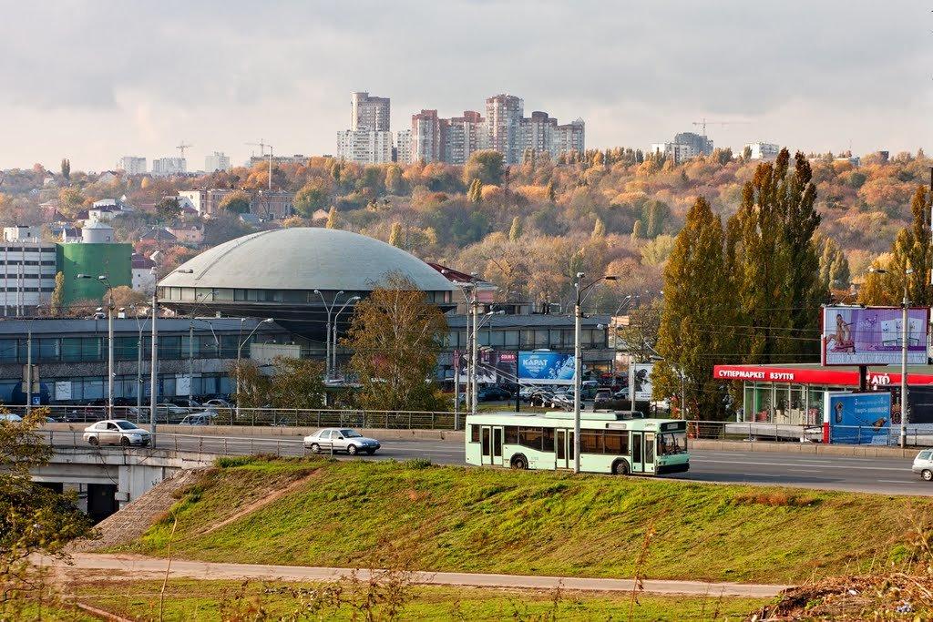 Татарка, Черная гора и Беличи: Микрорайоны Киева и почему они так называются, Фото: Mapio net