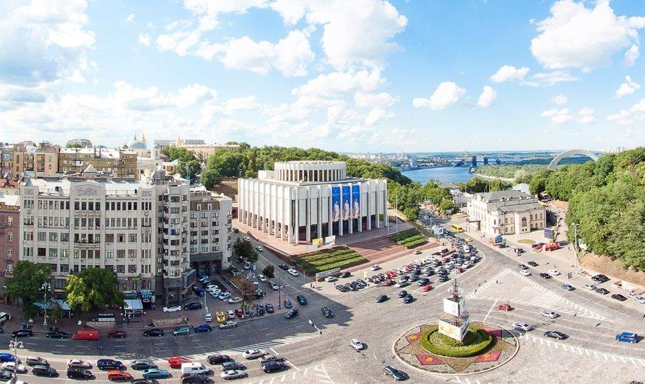 Киев в прошлом и теперь: как изменились известные дома, ФОТО, Фото: Google (Український дім)