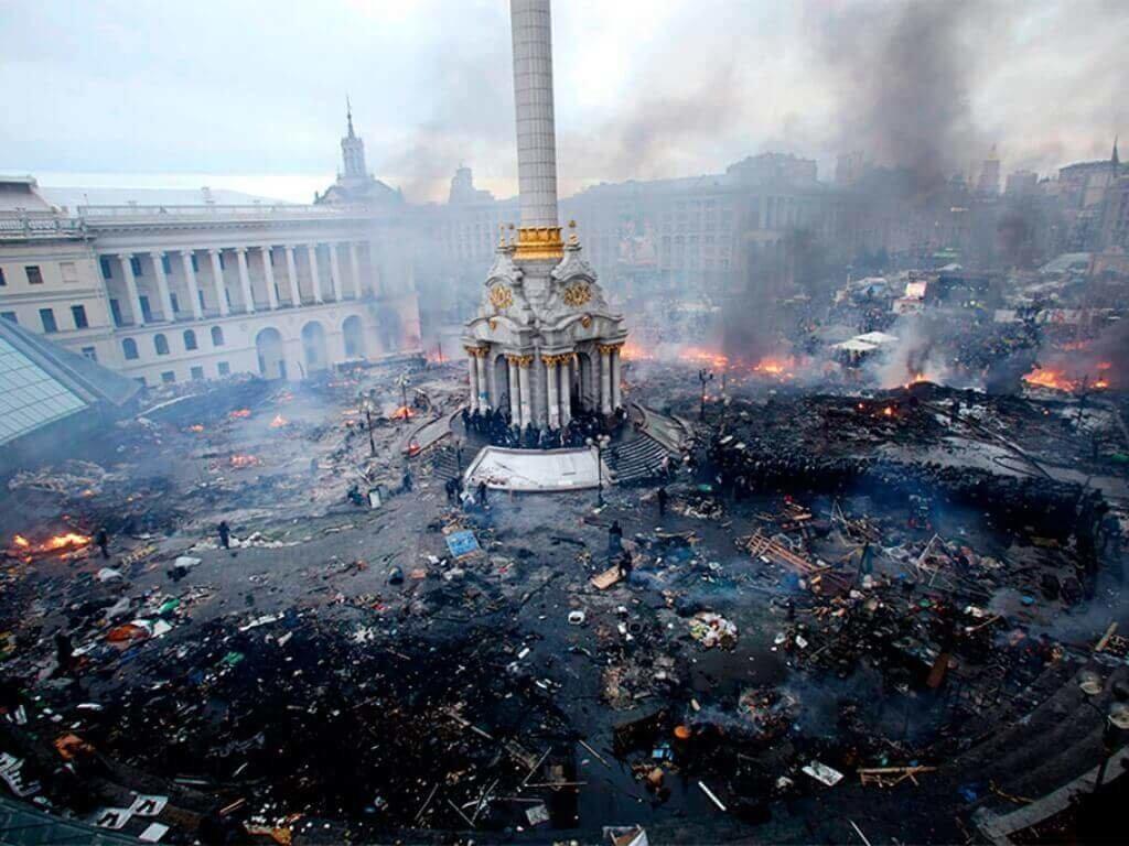 Революция достоинства в Украине