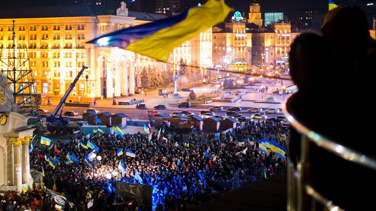 Революция достоинства в Украине, 2014
