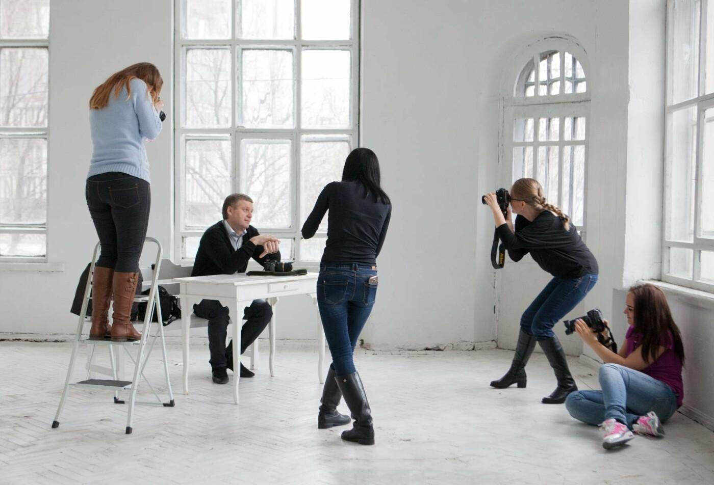 Курсы фотографа с нуля: где в Киеве учат искусству фотографии, Фото: Зеленый Квадрат