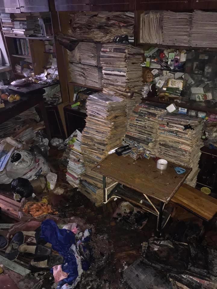 В Днепровском районе столицы произошел пожар, ресс-служба столичных спасателей