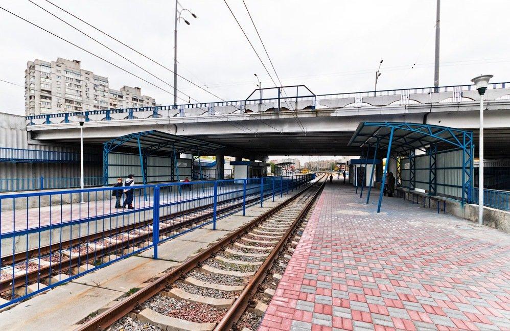 Скоростной трамвай в Киеве: как строили, сколько станций и как они выглядят, Фото: Википедия