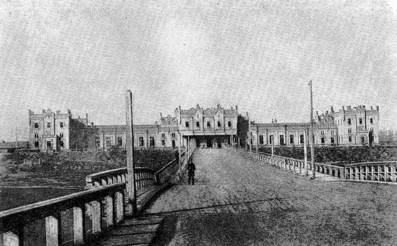 Ж/Д вокзал в Киеве: когда построили и как он выглядел раньше, Фото: экскурсии по КИеву