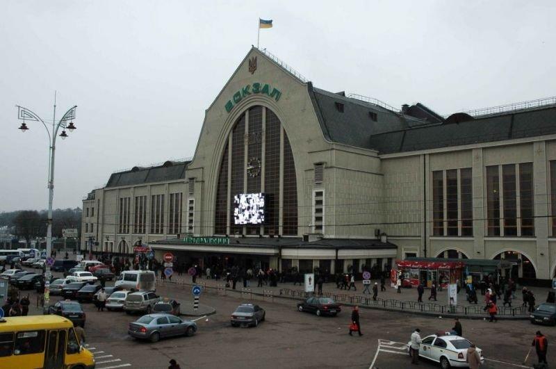 Ж/Д вокзал в Киеве: когда построили и как он выглядел раньше, Фото: Закграница