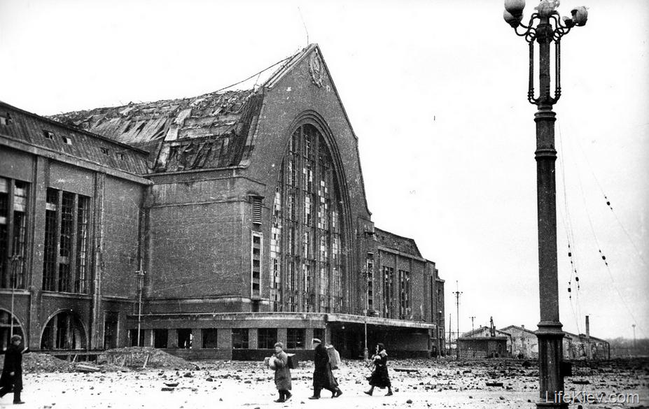 Ж/Д вокзал в Киеве: когда построили и как он выглядел раньше, Фото: жизнь в Киеве