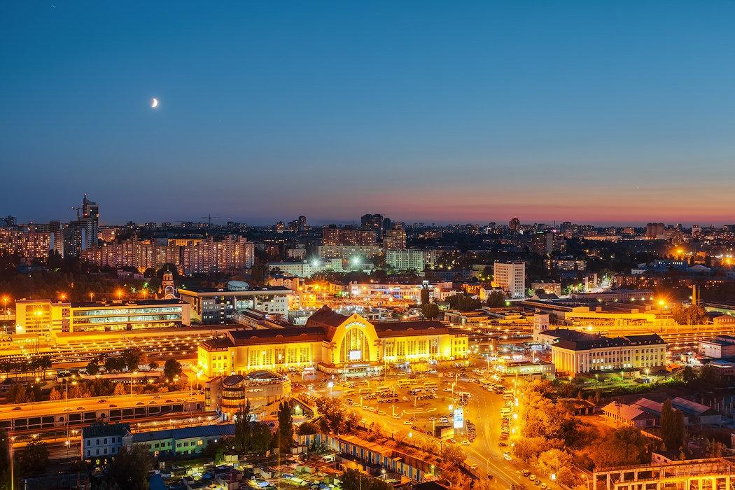 Ж/Д вокзал в Киеве: когда построили и как он выглядел раньше, Фото: Википедия