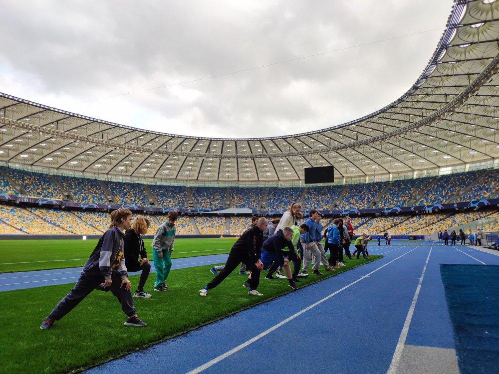 """""""Инклюзивный футбол для детей"""" - в Киеве стартовал благотворительный проект, фото-2"""