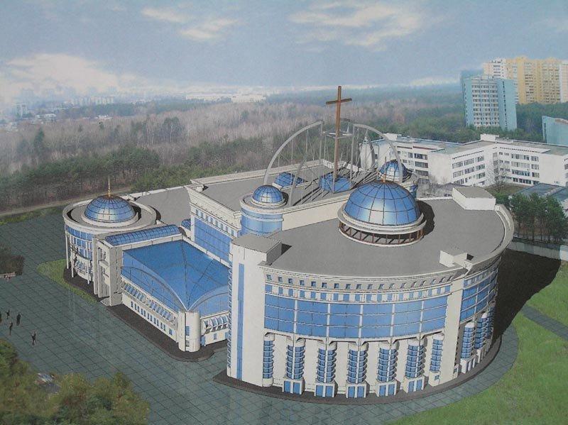 Проект духовно-благотворительного комплекса.