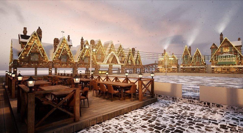 Где в Киеве покататься на коньках: цены, локации, график работы, Фото:Osocor Winter Residence