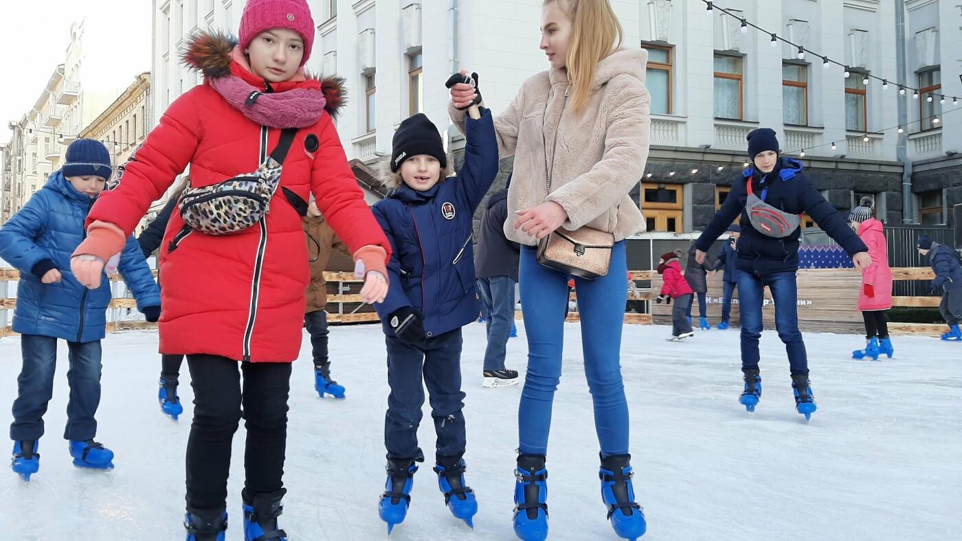 Где в Киеве покататься на коньках: цены, локации, график работы, Фото: 44.ua