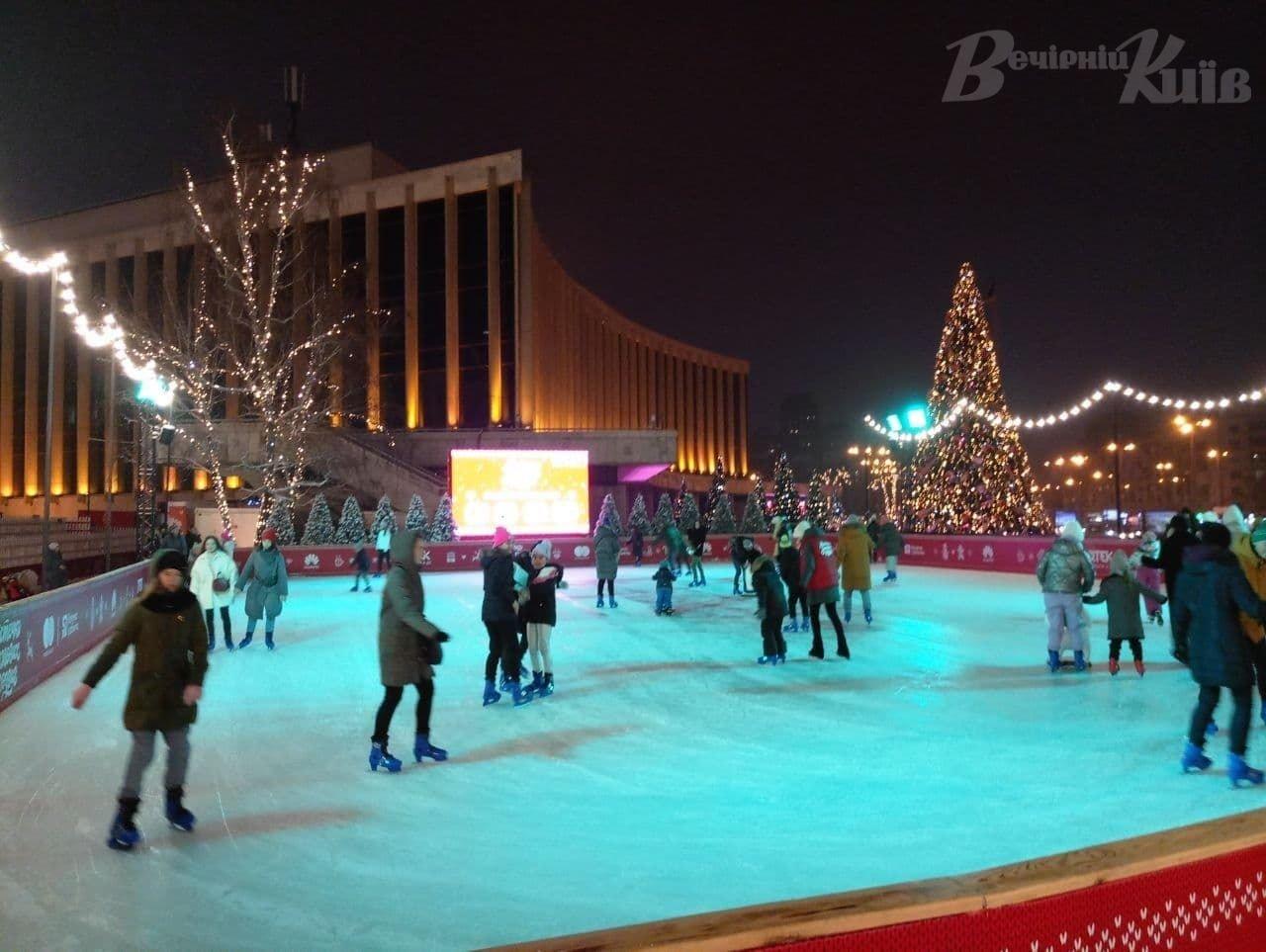 Где в Киеве покататься на коньках: цены, локации, график работы, Фото: Вечерний Киев