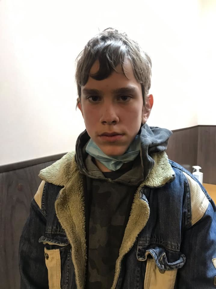 14-летний Каминовський Николай Александрович