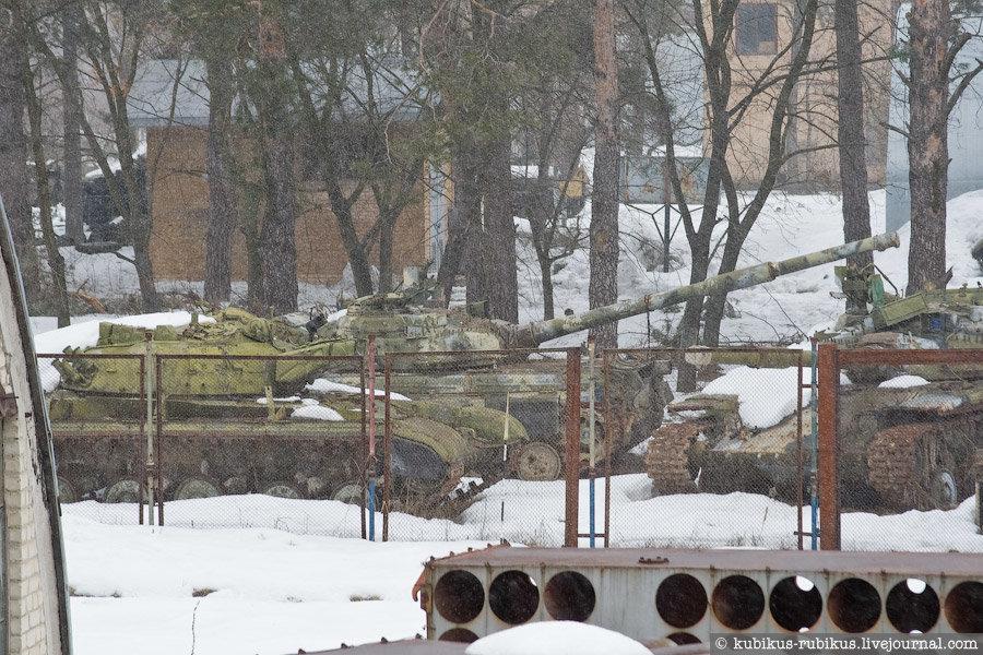 Кладбище танков в Киеве: где находиться и как туда попасть, Фото: Kubikus Rubikus Livejournal