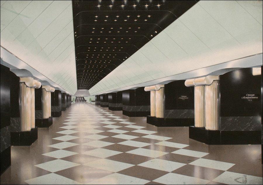 Каким могло быть метро в Киеве. Проекты, о которых забыли, Фото: tov tob livejournal