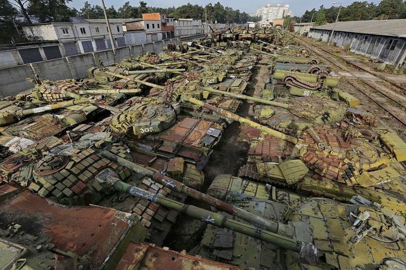 Кладбище танков в Киеве: где находиться и как туда попасть, Фото: Urbex Tour