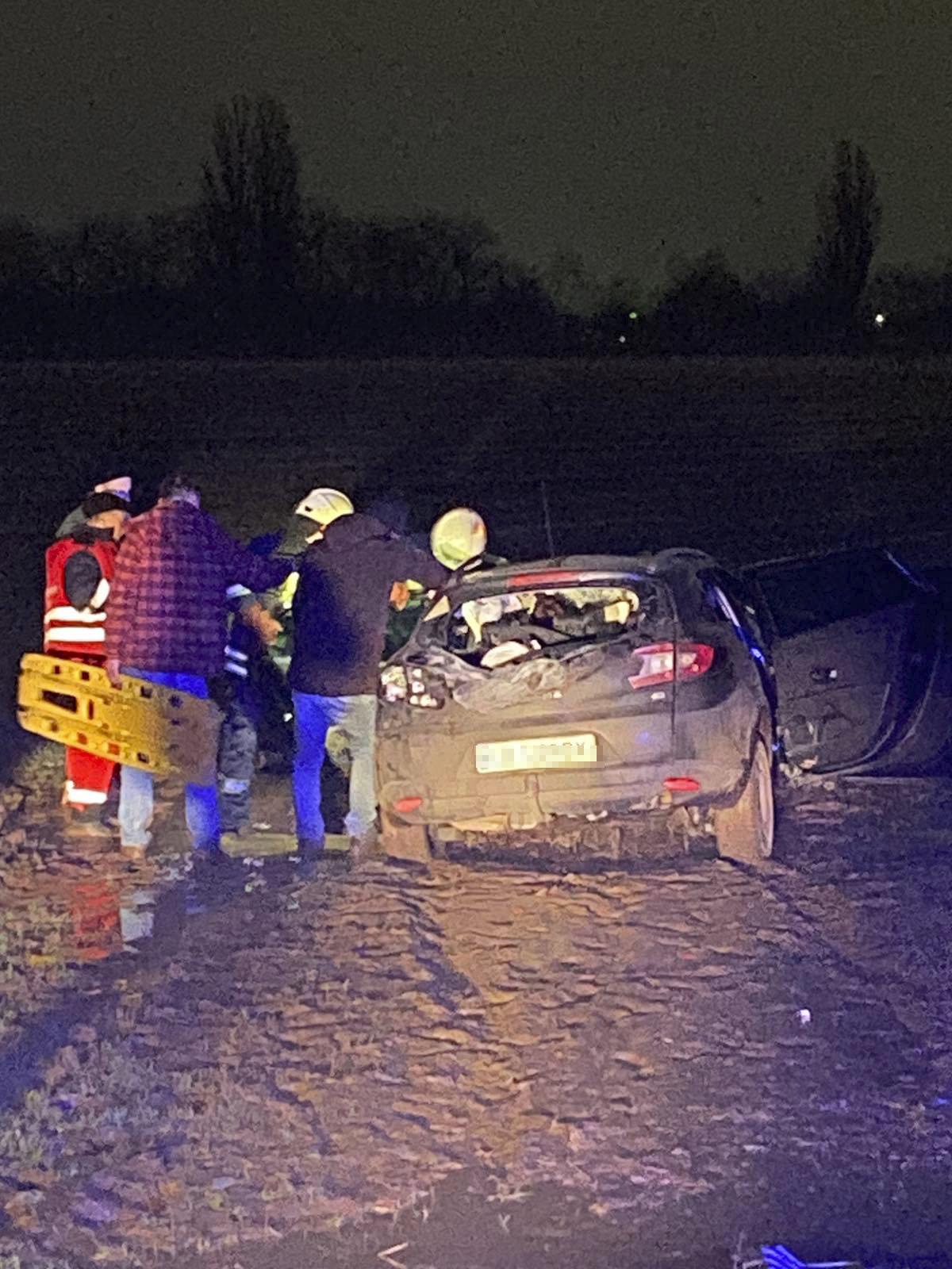 Под Киевом столкнулись Lexus и Renault Megane
