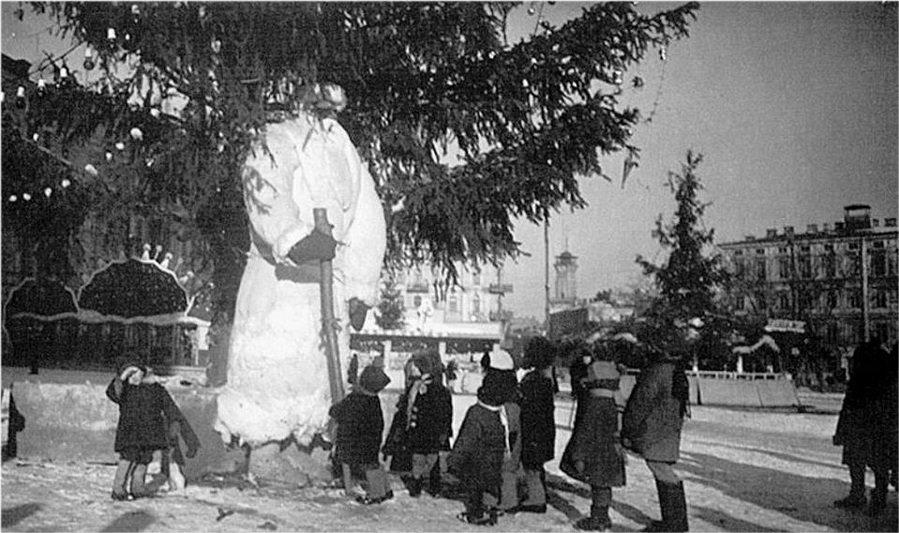 Как в Киеве праздновали Новый год 100 лет назад, ФОТО, Фото: KievPastFuture
