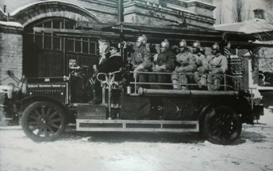 Как в Киеве пожары тушить учились:  когда в столице возникла первая пожарная служба, Фото: BigKyiv