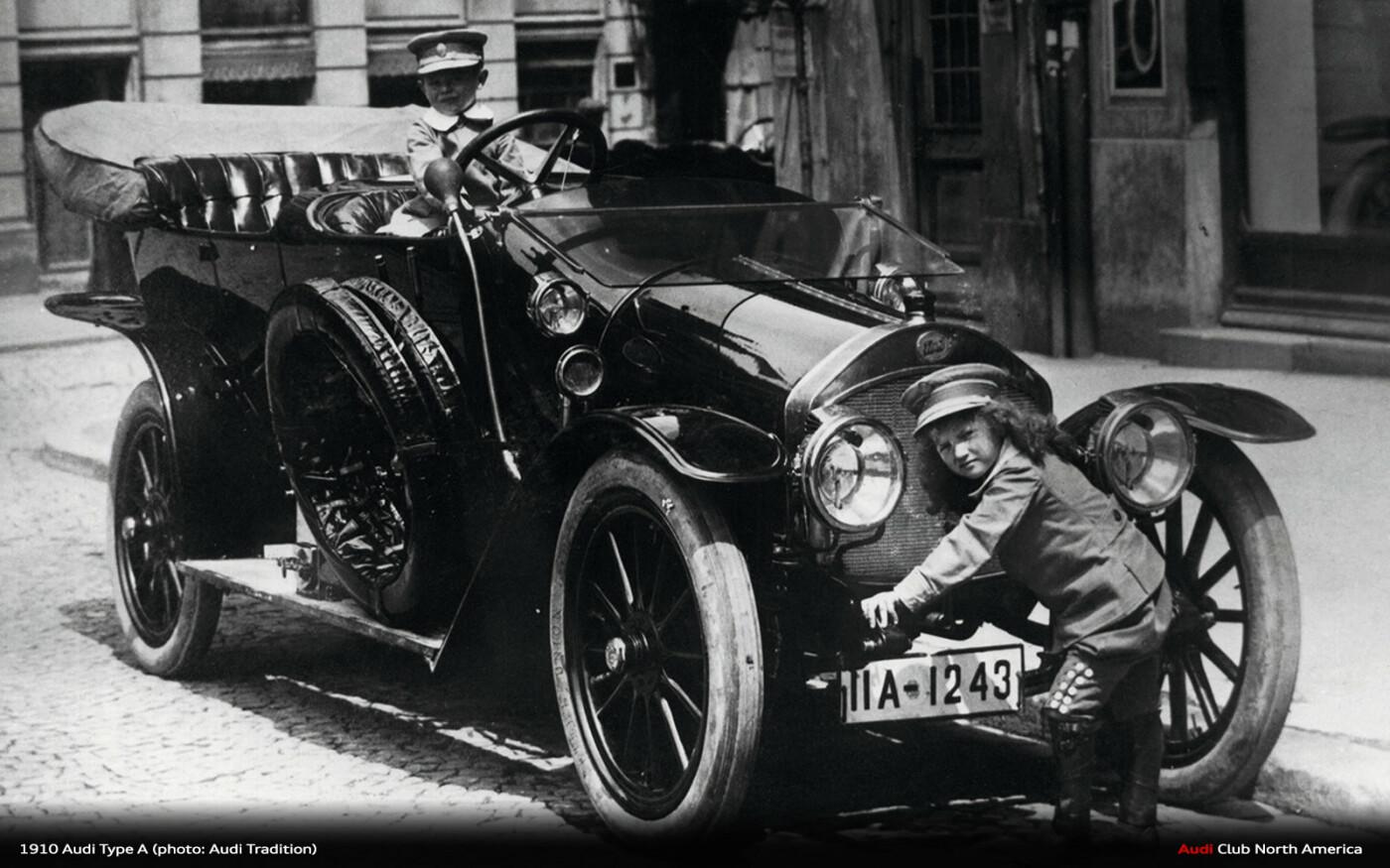 Первые автомобили в Киеве: когда появились и как реагировали киевляне, - ФОТО, Фото: Audi Club North America