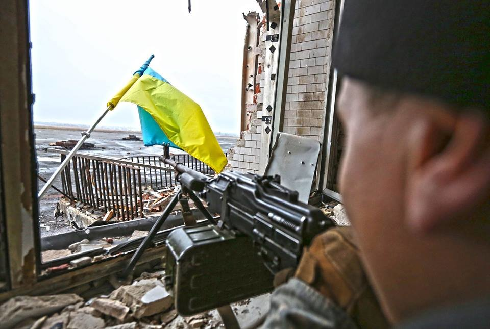 Они выдержали — не выдержал бетон: история героической обороны Донецкого аэропорта, Фото: Волинські Новини