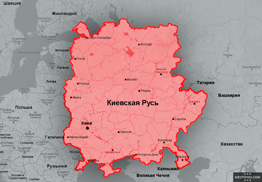 Киев — мать городов русских: правдивая история популярного выражения, Фото: KievToYou