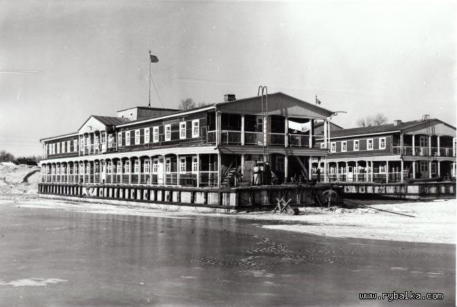 31 января 1961 г. Общий вид жилых домов в которых живут строители.