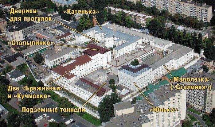 Корпуса тюрьмы, Фото: Уикенд