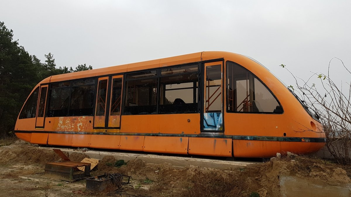 Киевский монорельс: история транспорта будущего, оставшегося в прошлом, - ФОТО, Фото: Transphoto