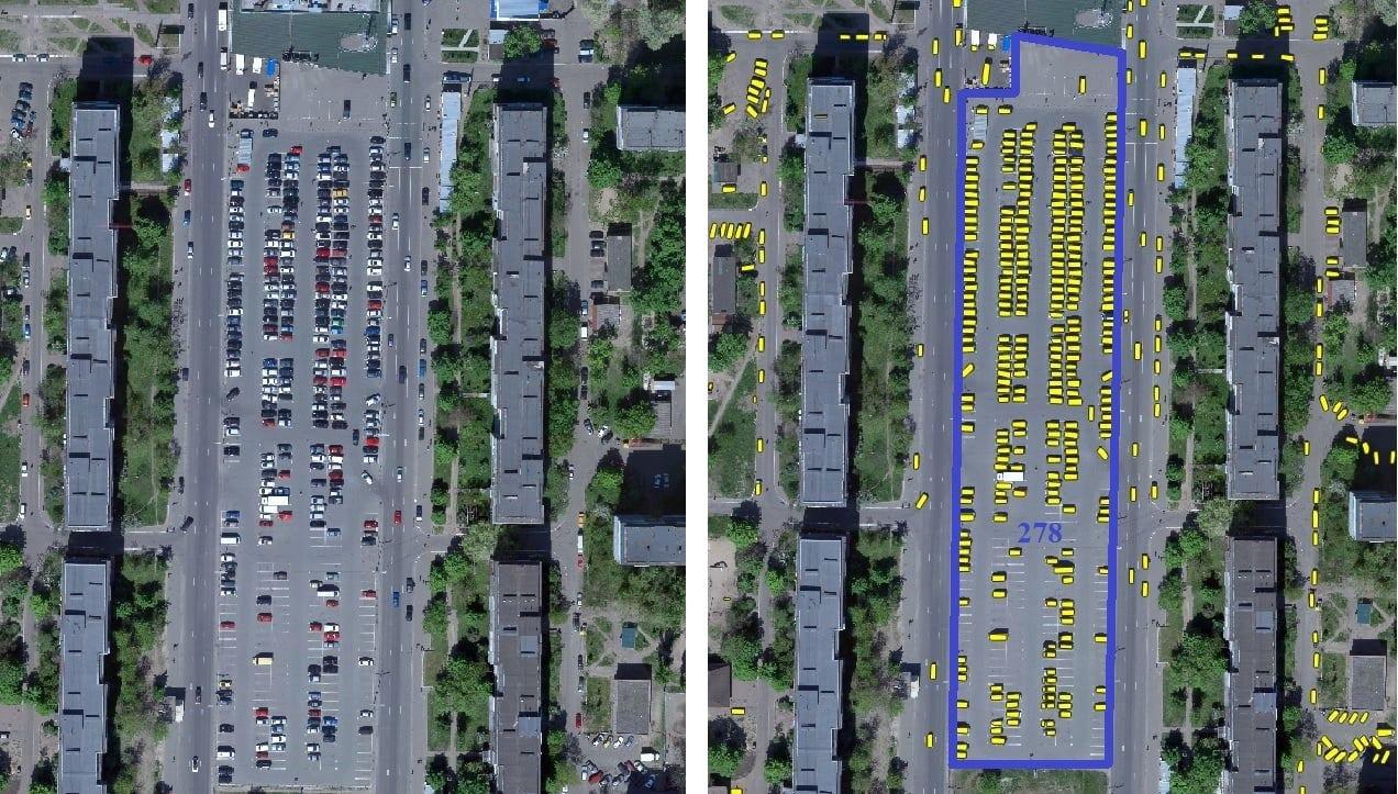 Сколько машин ежедневно ездит по Киеву., Фото из Telegram-канала ЛУН
