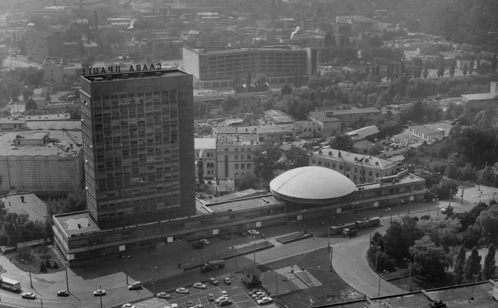 «Тарелка на Лыбедской» в Киеве: история уникального здания и споры вокруг реставрации, - ФОТО, Фото: SaveKYIVmodernism