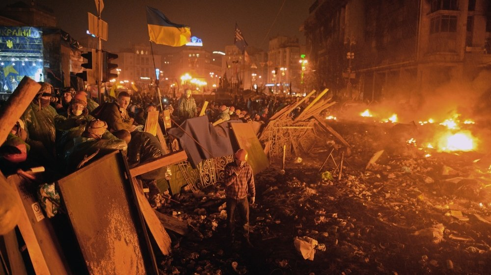 Киев, Майдан, 2014